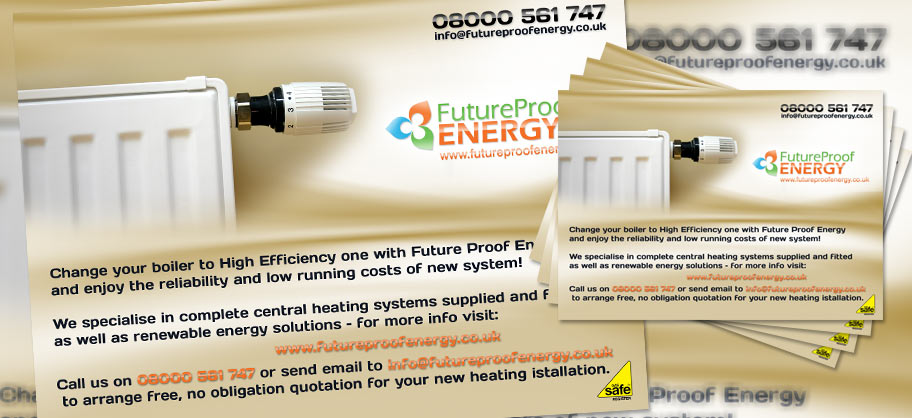 Future Proof Energy - A5 Flyers