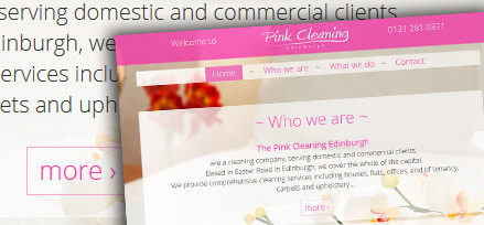 Pink Cleaning Edinburgh