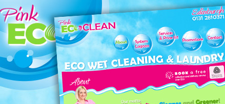Pink Eco Clean - Ecological laundry in Edinburgh