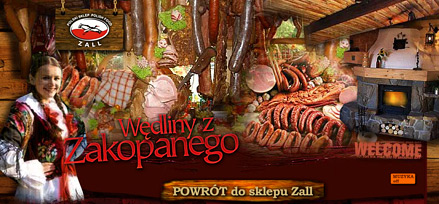 Polish Shop Zall - Invasion of cold meats from Zakopane rocks!